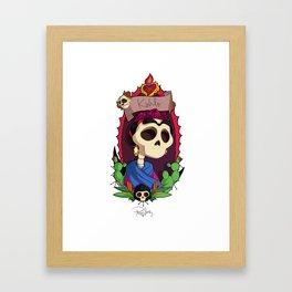 Rey Kahlo Framed Art Print