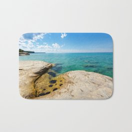 The Coves on Lake Superior - Pictured Rocks Bath Mat