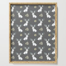 Jackelope of all Trades Pattern Serving Tray