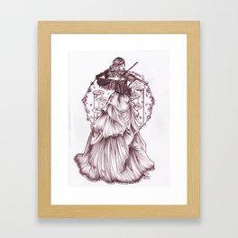 belle of the boulevard Framed Art Print