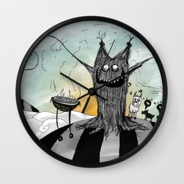 La Chupacabra Wall Clock