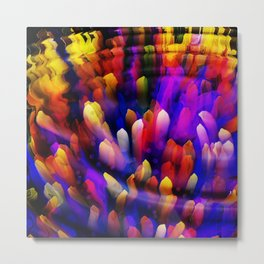 Midnight at the Coral Reef Metal Print