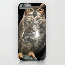 Superb Owl Sunday iPhone Case