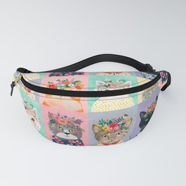 Cat land Fanny Pack
