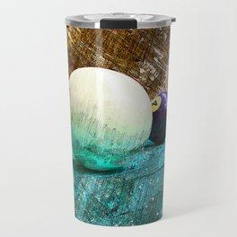 Modern snooker and Billiards art Travel Mug