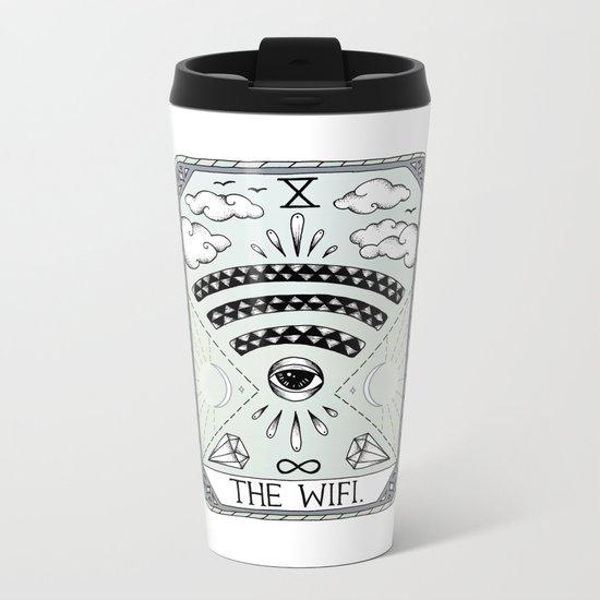 The Wifi Metal Travel Mug
