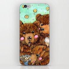 Bears with Porridge iPhone Skin