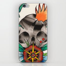 Skull of Unnamed Fear iPhone Skin