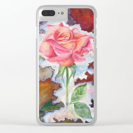 A Land Beyond Borders Clear iPhone Case