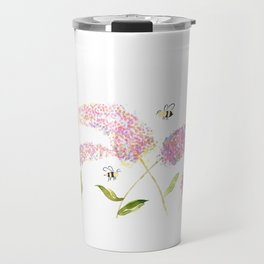 Of Buddleias & Bumble Bees Travel Mug