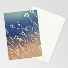 Blue and day  Stationery Cards