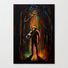 Commander Chimp Canvas Print