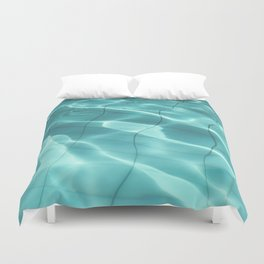 Water / Swimming Pool (Water Abstract) Duvet Cover
