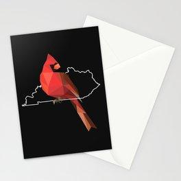 Kentucky – Northern Cardinal (Black) Stationery Cards