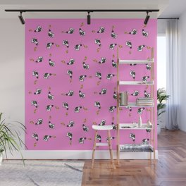 Cows and Pizza Wall Mural