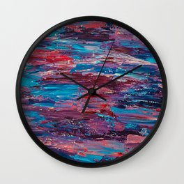 Low Fi Contrast Wall Clock