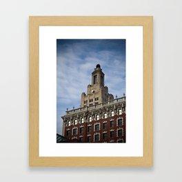 Providence Superman Building Framed Art Print