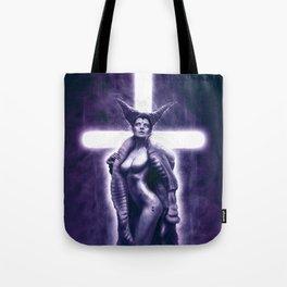 Lady Satanic Tote Bag