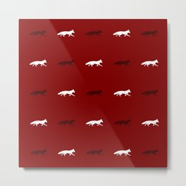 Red Foxes! Metal Print