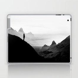 black wasteland isolation Laptop & iPad Skin