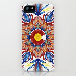 Colorado Mandala  iPhone Case