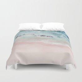 Ocean Pink Blush Duvet Cover
