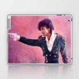The Purple Rain of Prince Laptop & iPad Skin