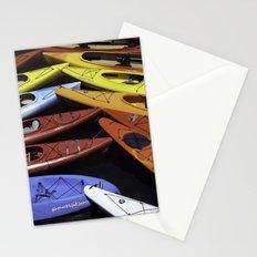 Kayaks Stationery Cards