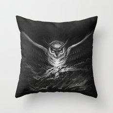 BounD Owl Throw Pillow