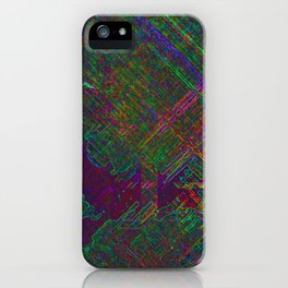 The First Fungal City of Mars iPhone Case