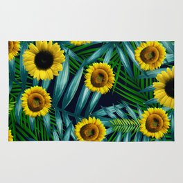 Sunflower Party #2 Rug