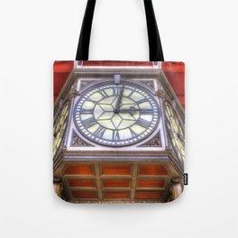 Paddington Station Clock Tote Bag