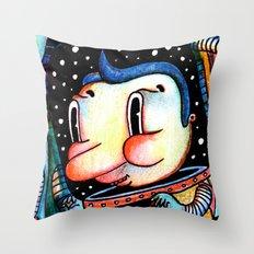 viaje Throw Pillow