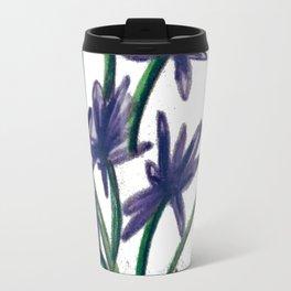 PurpleFlowers Travel Mug