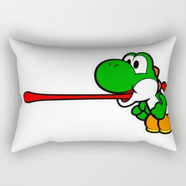 Yoshi super mario Rectangular Pillow