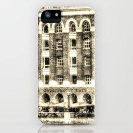 Hays Galleria London Vintage iPhone Case