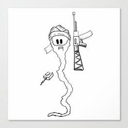 Osama Sperm Laden Canvas Print