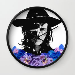 Carl Grimes Wall Clock