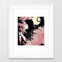 allison argent Framed Art Prints featuring Allison Argent by KissingCullens