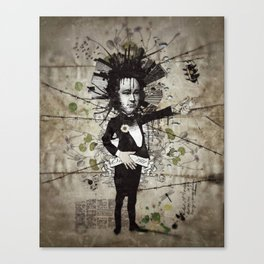 Mr. Hungry Canvas Print