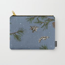 FLYING SQUIRRELS IN THE PINES (twilight) Carry-All Pouch
