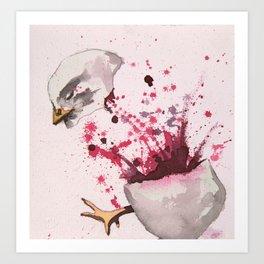 Chick 740 of 5,326 Art Print