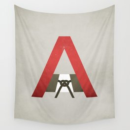 The Scarlet Letter Wall Tapestry