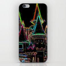 Neon Kingdom iPhone & iPod Skin