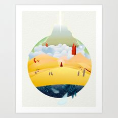 My Journey Art Print