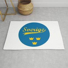 Sweden, Sverige, circle Rug