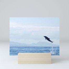 The sky is the limit Mini Art Print