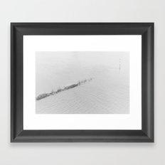 THE RHINE Framed Art Print