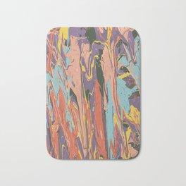Baesic Primary Paint Drips Bath Mat