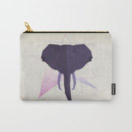 Elephantus Geometria Carry-All Pouch